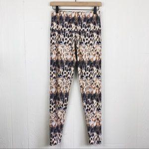 Onzie Animal Print Full Length Leggings